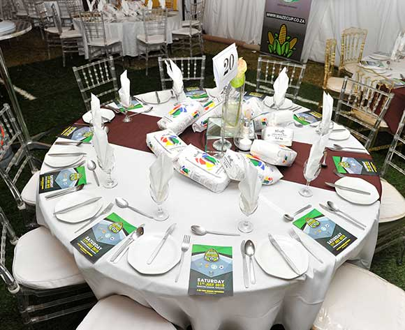 during the 2015 Bokone Bophirima Maize Triangle Challenge Galla Diner at the Kwa- Mankwe Game Reserve in Rustenburg, South Africa on July 10, 2015 ©Samuel Shivambu/BackpagePix