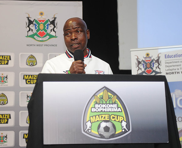 David Vilakazi assistant coach of Free State Stars  during the 2017 Maize Cup Launch on 27 June 2017 at Protea Hotel Klerksdorp   © Sydney Mahlangu /BackpagePix