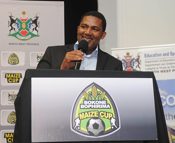 Bafana Pheto of Township Rollers  during the 2017 Maize Cup Launch on 27 June 2017 at Protea Hotel Klerksdorp   © Sydney Mahlangu /BackpagePix